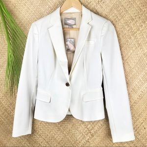 Love 21 off white long sleeve blazer